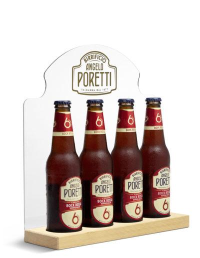 Bottle Glorifier Poretti ( per 4 bottiglie )