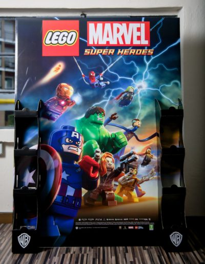 Espositore Marvel Lego Movie