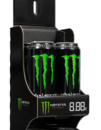 Dettaglio Espositore CLIP Monster