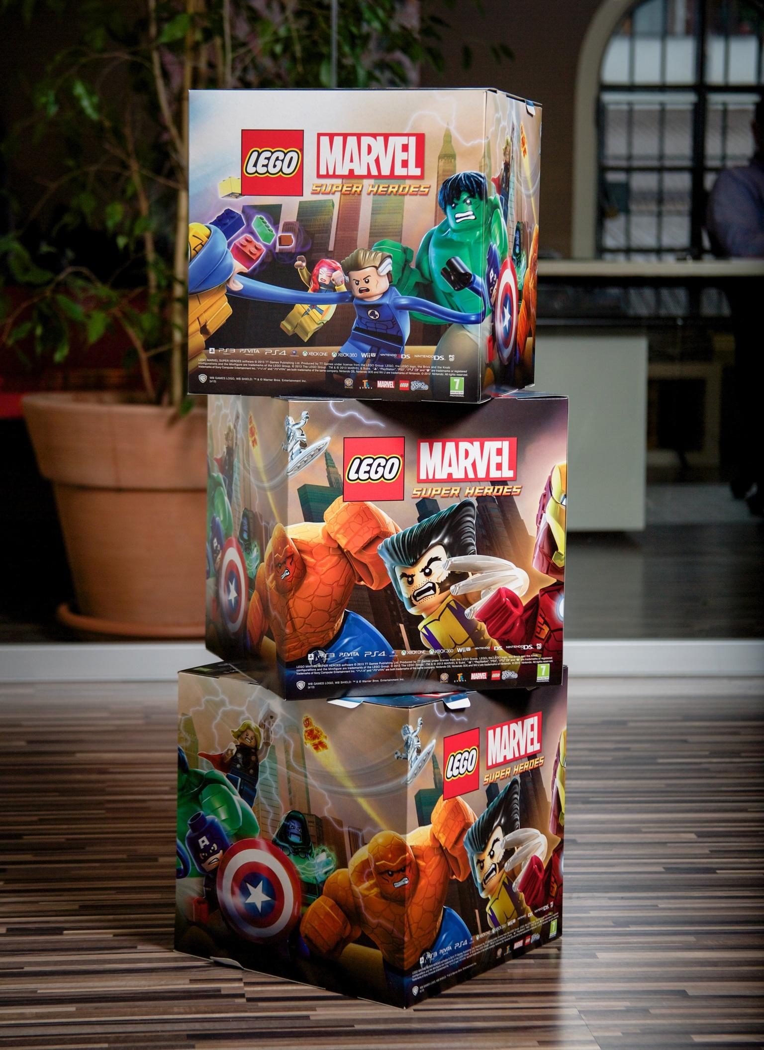 Cubotti Lego Marvel (30x30)