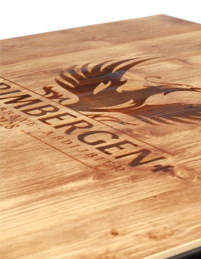Ripiano il legno Grimbergen (70x70cm)