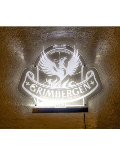 Targha Luminosa in PLEXIGLASS Grimbergen