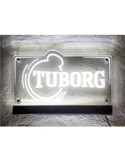 Targha Luminosa in PLEXIGLASS Tuborg