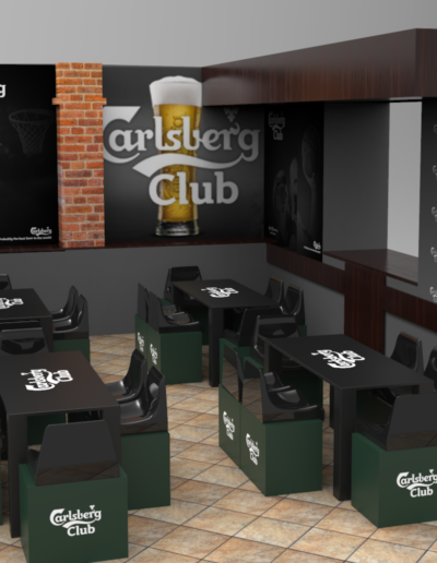 Su e Gio Basket Bar Render