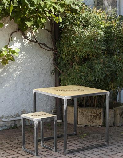 Carlsberg (tavolo 70x70x70cm)