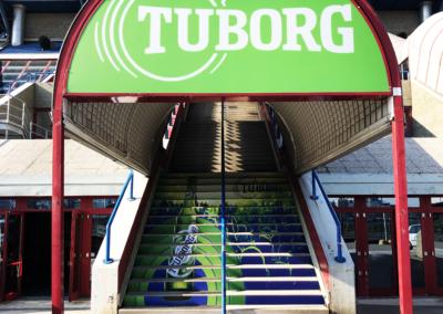 Scala Tuborg al Mediolanum Forum