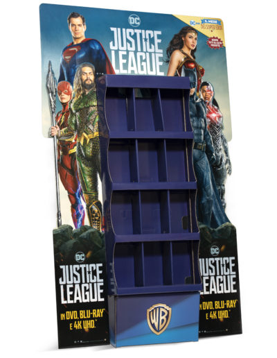 Espositore JUSTICE LEAGUE Warner