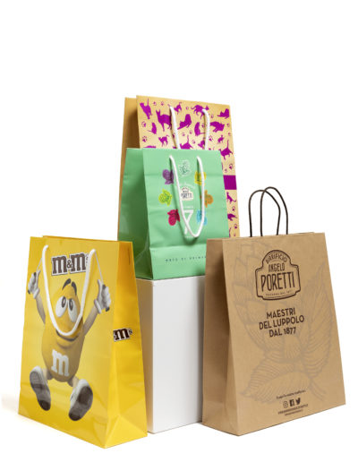 Shopper in carta vari formati