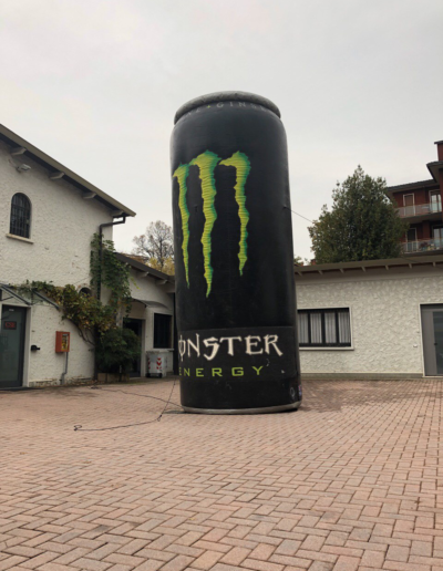 Lattina gonfiabile Monster H 6.00 metri